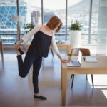 best exercise to do at your desk